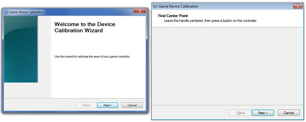 Game Controls Setup.